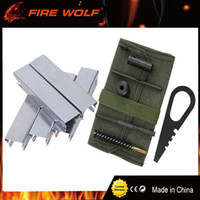 Wholesale Stripper Kit - FIRE WOLF Mosin Nagant Rifle 6 Piece Cleaning Kit and 5pcs 7.62x54 Spring Steel Mosin Nagant stripper clips for Hunting