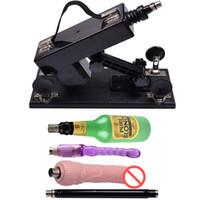 brinquedos sexuais populares venda por atacado-Sex Machine Gun para Casais Intercourse Sexual Automática Máquina de Amor Robô com Vibrador Popular Sex Toys Sex Toys