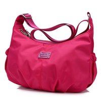 Wholesale Women S Fashion Purses - Wholesale- Women Crossbody Hobos Bag Ladies Nylon Handbag Travel Casual Bag Leisure Fashion Bags Bolsos Mujer Brand Bag Purse S-289