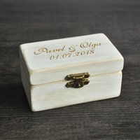Wholesale Wedding Ring Bearer Box - Wedding Ring Box, Wooded Ring Bearer Box,Ring Bearer Pillow, Personalized Ring Box