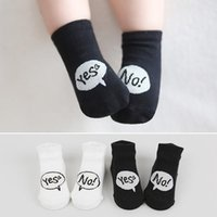 Wholesale Girls Socks Years Old - Spring Autumn Cute Anti-slip baby socks newborn cotton baby boys girls lovely toddler socks for 0-2 years old babies