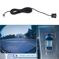 système de capteur de stationnement led achat en gros de-A43 LED Kit Parking Sensor Kit 4 Capteurs Auto Reverse Assistance Système Backup Moniteur Radar