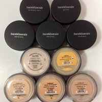 Wholesale Wholesale Mineral Powder Foundation - Bare Minerals Loose Powder BareMinerals Face Powder Foundation N10 fairly light N20 medium beige C10 fair C25 medium N30 tan W15 Light