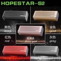 Wholesale S2 Button - S2 Aluminum Bluetooth speaker Outdoor portable wireless speaker stereo subwoofers handfree MP3 player Support USB TF FM radio