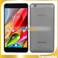 Wholesale dual sim tv cell phone cdma resale online - Original AMIGOO X15 MT6580 Quad Core Cell Phone quot Android Smartphone G RAM GB ROM mAh Quick Charge GPS Mobile Phone