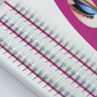 Wholesale Volume Hair Styles - Wholesale- 2boxes Volume 3D Eyelash Extensions 0.07 Thickness Hair Mink Strip Eyelashes Individual Lashes Fans Lash Natural Style