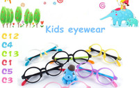 Child sports eyewear for kids - 2017 new lovely candy color non toxic kids eyewear frame super light with quality silica gel and TR90 for kids prescription glasses