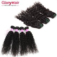 Wholesale Malaysian Wavy Virgin Hair 4pcs - Brazilian Virgin Human Hair Weave Natural Wave 4Pcs Lot Kinky Curly Virgin Hair Weave Wet And Wavy 100g Brazilian Water Wave Hair Extension
