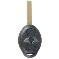 anahtarsız giriş değiştirme fobı toptan satış-Garantili% 100% Çevirme Araba Yedek Anahtarsız giriş Uzaktan Anahtar Fob Combo BMW Mini Cooper S Clicker S R50 R53 315 mhz Ücretsiz nakliye