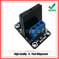 solid state relays wholesale Canada - Free Shipping 2pcs 1 Way 5V Low Level Solid State Relay Module With Fuse Solid State Relay 250V 2A (C2A5)