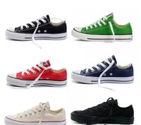 Wholesale canvas shoe price for sale - Group buy new Factory promotional price canvas shoes women and men high Low Style Classic Canvas Shoes Sneakers Canvas Shoe