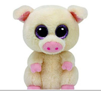 Wholesale Pig Toys For Birthday Gifts - Ty Beanie Boos Stuffed Animals & Plush Pig Toys Big Eye Kawaii Gift for Baby Girl Birthday