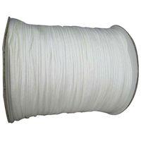 Wholesale White Beading Thread - 1mm White Rattail Satin Braid Nylon Cord+DIY Jewelry Accessories Thread Macrame Rope Shamballa Bracelet Beading Cords 350m Roll