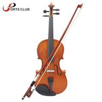 Blacked Maple case violin strings - Full Size Violin Natural Acoustic EQ Violin Fiddle Solid Wood Spruce Face Board with mm Wire Bow Rest Rosin String Case