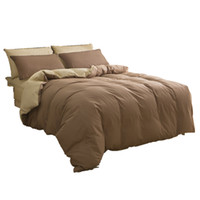 Wholesale Brown Twin Comforter - Wholesale- CARA CARLE Home Textiles 4pcs Bedding Set Bedclothes include Duvet Cover Bed Sheet Pillowcase Comforter Bedding Sets Bed Linen