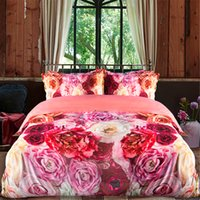 Wholesale Bedding Sets For King Size - Flower Sea Bedding Set Duvet Cover Set Bed Sheet Bedding Home textiles For Twin Queen King SIZE
