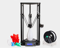 Wholesale Pulley Sizes - Anycubic Upgrade 3D Printer Pulley Version Linear Guide DIY Kit Kossel Delta Large Printing Size 3D Metal Printer
