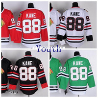 Wholesale Icing Store - Best Quality Aimee Smith Store Youth Patrick Kanes Jersey 88 Kids Ice Hockey Embroidery Logos Vintage China