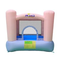 Wholesale toys castle set resale online - Inflatable Castles Playgrounds Children s Family Playground Indoor Equipment Small Inflatable Castle Jumping Bed Jumping Bed