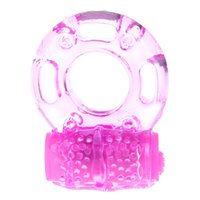 Wholesale butterfly vibrator ring - Health Adult Men Male Vibrate Sex Toy Masturbation Vibrator Silicone Vibrating Butterfly Penis Ring For Man Masturbator Hand Free Product