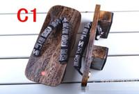 Wholesale Geta Sandals - PT12 clogs men shoes flip flops high heel sandals geta cosplay