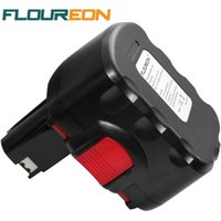 Wholesale Batteries For Bosch Power Tools - FLOUREON BAT038 14.4V 2000mAh Rechargeable Battery Pack Power Tools Battery Cordless Drill Replacement for Bosch 3660CK Ni-CD