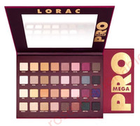 Wholesale eye shadow 32 color - NEW LORAC Mega PRO EyeShadow Palette 32 Color eye shadow Limited Edition Holiday Makeup Set Cosmetics