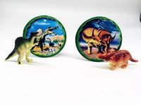 Wholesale 3d Egg Puzzle - LNL 4 pcs Jurassic Dinosaur Puzzle Egg 4D 3D& LED Light Child Funny and Educational Toy Gift