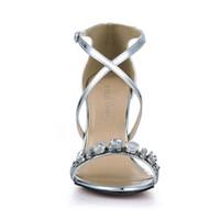zapatos calientes imágenes al por mayor-Zapatos de mujer Sandalias Cristales Imagen Real Zapatos de Mujer de Gran Tamaño Barato y Modesta Venta Caliente Zapatos de Verano de Sandalias de Correa de Hebilla