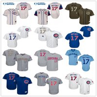 Wholesale Grey Outlet - World Series Champions Patch 17 Kris Bryant Chicago Cubs 1929 1942 Throwback Black Gray Green Blue White Gold MLB Baseball Jerseys Outlets