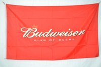 Wholesale Promotional Flags - Budweiser Advertising Promotional Flag Banner 3X5