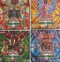 Wholesale Yugioh Cards Wholesale - Yugioh Cards Game Funny Board Games English Edition Anime Desktop Game Card Children Toy Color Bag Packing 17bk New G1