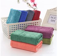 Wholesale Microfiber Towels For Hair - 30*70cm Microfiber hand bath Bath Towel for Adults Thick Men Sport Beach Towel Bathroom Outdoor Travel microfibra sport Towel
