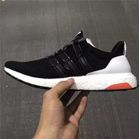 Flat outdoor wood table - 2017 Running Sneakers W W WW WOO WOO Wood Wood X Ultra Boost Black And White AF5778 Men And Women Boost Outdoor Shoes Drop shipping