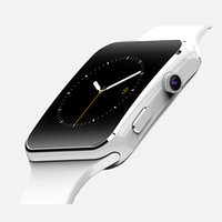 Wholesale Gps Box Packing - New brand E6 smart watch bluetooth IPS 1.54 inch smartwatch 2.5D mtk6261 SIM TF with packing gift box for iOS android
