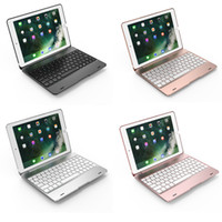 OEM f33  Universal F19A Bluetooth 3.0 Wireless Keyboard With Backlit ABS Shell Protective Case For All iPad 9.7""