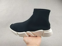 Wholesale Dropshipping Shoes - 2017 new Black Sock Booties Sports Running Shoes,Training Sneakers Shoes,Speed Knit Sock High-Top Training Sneakers,Dropshipping Accepted