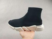 sapatilhas dropshipping venda por atacado-2017 new Black Sock Sapatilhas Sapatilhas de Corrida, Sapatilhas de Treinamento Sapato, Speed Knit Meias High-Top Training Sneakers, Dropshipping Aceito