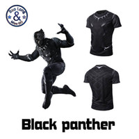Wholesale Cheap Green Tshirts - 3d print black color panther cloth shirt summer t shirts for men 3d printed exquisite The Avengers design sweatshirt wholesale cheap tshirts