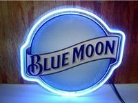 ingrosso segni al neon blu della luna della luna-17
