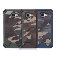 Wholesale Iphone Cases Army - Army Camouflage Pattern 2 in1 Armor Hard Phone Case For iPhone 6 6s 6Plus 7 7Plus Samsung S5 S6 S6Edge S7 S7Edge