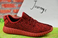 Wholesale Fasion Shoes - 2018 Wholesale Discount Cheap Kanye Milan West Boost 350 Men's & Women's Outdoor Shoes Fasion Sports Running Shoes Free Shipping With Box