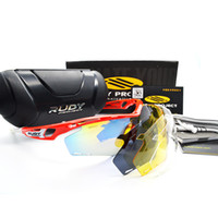 Wholesale Rudy Lens - 7 Colors luxury Men 4 Lens Brand Designer Polarized Sunglasses Rudy Project TRALYX Sun Glasses Outdoor UV400 Sport Riding Bicycle Sunglasses