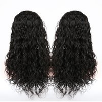 Wholesale Slove Brazilian Wet and Wavy Full Lace Human Hair Wigs For Black Women Glueless Water Wave Lace Front Wigs With Baby Hair