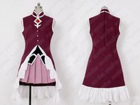 Puella Magi Madoka Magica Kyoko Sakura Dress Costume Cosplay Movie Custom Made