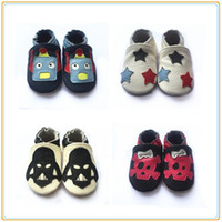 Wholesale Popular Shoe Wholesale - very popular soft sole shoes cute baby genuine leather boots kids shoes