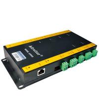 панель управления доступом tcp ip оптовых-Adroitor TCP / IP двухдверный сетевой контроллер панели управления доступом для 2-дверного считывателя 4