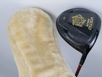Wholesale Katana Driver Golf - Black Katana Voltio Ninja Driver Katana Golf Driver Golf Clubs Loft 9 10 R S SR Flex Graphite Shaft With Cover