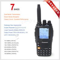 Wholesale Wouxun Dual Band - Wouxun KG-UV9D PLUS dual band transmission walkie talkie Wouxun KG-UV9D PLUS For Security Check UV dual band two way radio