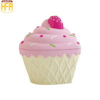 Wholesale Portable Ice Cream - Storage Containers Storage Box Portable Food Container Ice Cream Shape Boxes Multi Function Candy Containers Mixed Color Wholesale